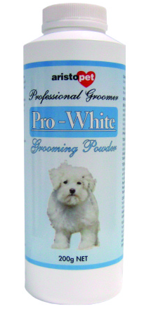 Aristopet - Pro White All Natural Grooming Powder - PetProject.HK
