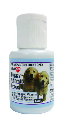 Aristopet - Special Flavored Puppy Vitamin Drops (60ml) - PetProject.HK
