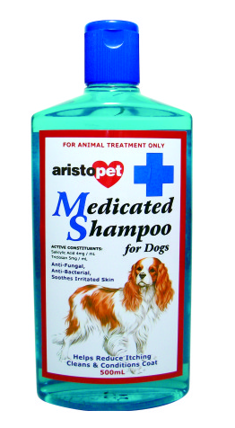 PetProject.HK: Aristopet - Veterinary Strength Medicated Shampoo for Dogs (500ml)