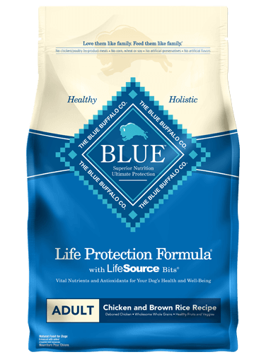 BLUE - Life Protection Formula - Adult Dogs - Chicken & Brown Rice - 6LB