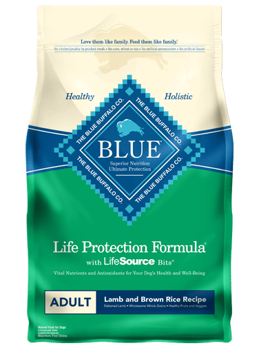BLUE - Life Protection Formula - Adult Dogs - Lamb & Brown Rice - 6LB
