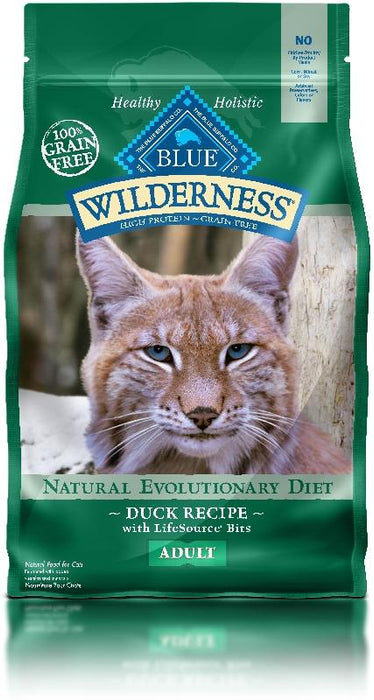 PetProject.HK: BLUE Wilderness - Adult Cat Duck Recipe - 5lb (Grain Free)