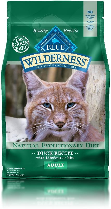 BLUE Wilderness - Adult Cats - Duck Recipe - 5LB