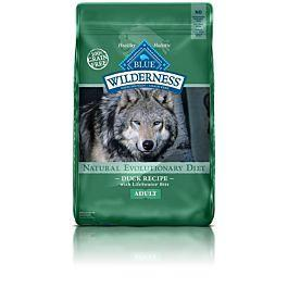 BLUE Wilderness - Adult Dogs - Duck Recipe - 24LB