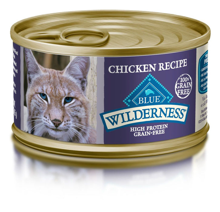 BLUE Wilderness - Adult Cats - Chicken Canned Food - 3OZ - PetProject.HK