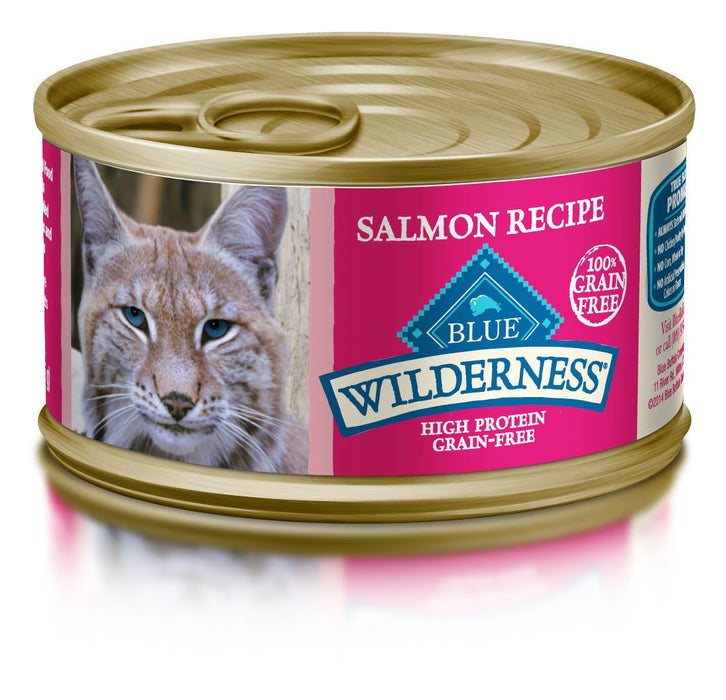 BLUE Wilderness - Adult Cats - Salmon Canned Food - 3OZ