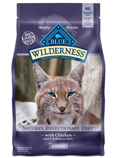 BLUE Wilderness - Adult Cats - Chicken Recipe - 12LB