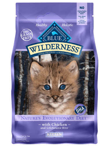 BLUE Wilderness - Kitten - Chicken Recipe - 5LB