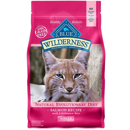 BLUE Wilderness - Adult Cats - Salmon Recipe - 11LB
