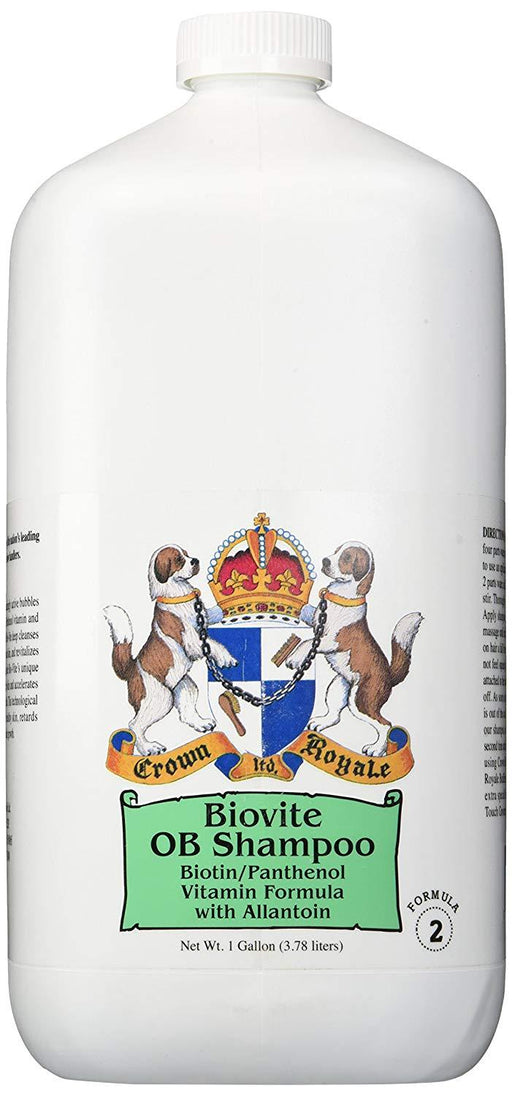 PetProject.HK: Crown Royale - Biovite Shampoo Concentrate - Formula 2 (1gal)