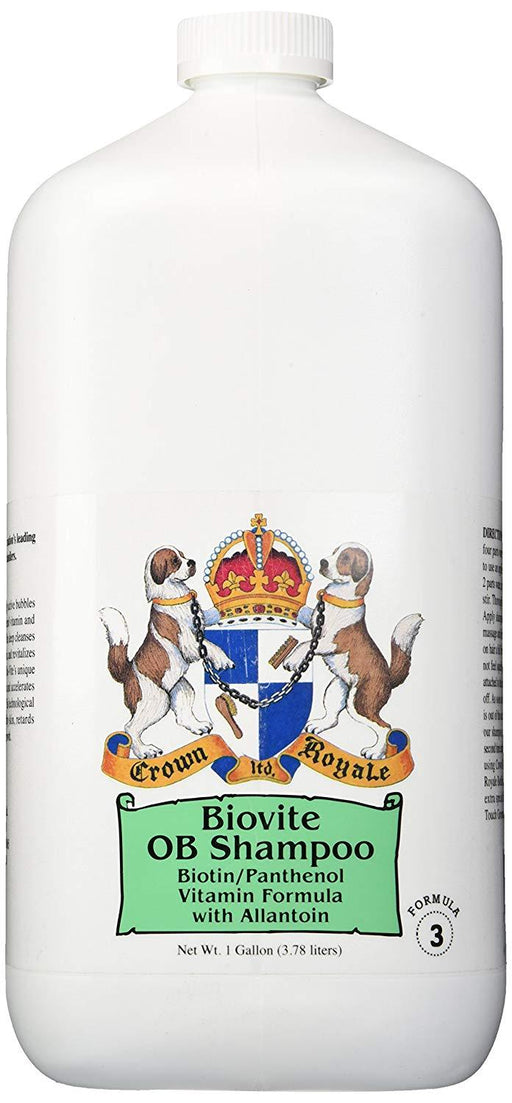 PetProject.HK: Crown Royale - Biovite Shampoo Concentrate - Formula 3 (1gal)