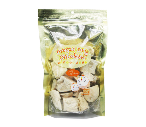 Freeze Dried Chicken - Pet Treats for Cats and Dogs - 100G - PetProject.HK