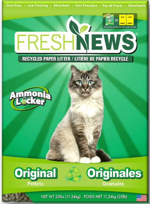 Fresh News Cat Litter - 25LB
