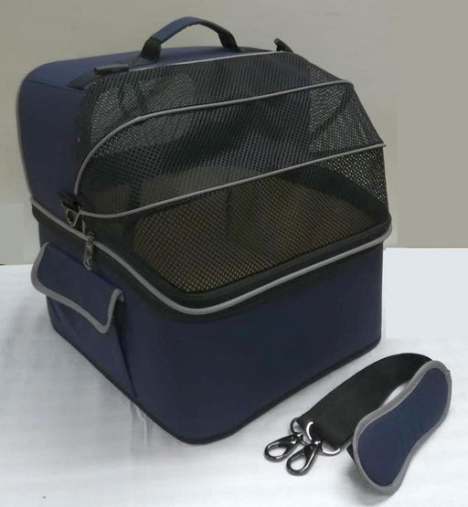 One for Pets - 2-IN-1 Pet Carrier - Blue - PetProject.HK