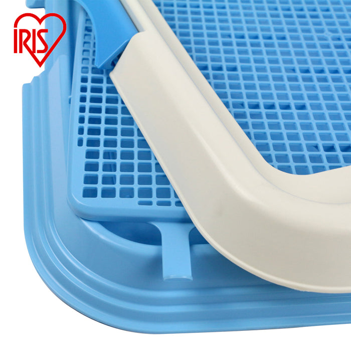 IRIS - Pet Toilet with Mesh - Blue (L) 65 x 55 x 4cm - PetProject.HK