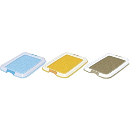 IRIS - TFT-495 - Pet Toilet with Mesh  - Yellow - PetProject.HK