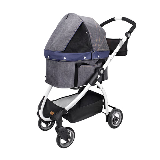 Ibiyaya - CLEO Travel System Pet Stroller - Denim