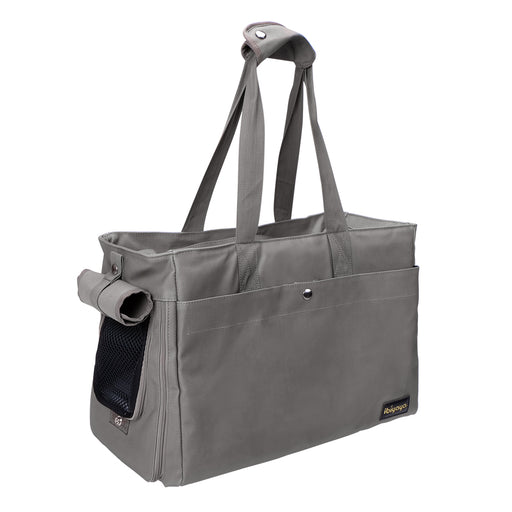 Ibiyaya - Canvas Pet Tote - Smoke Gray