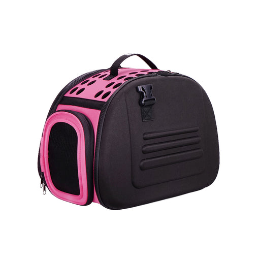 Ibiyaya - Classic Collapsible Shoulder Carrier - Pink - PetProject.HK