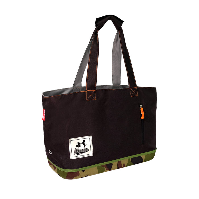 Ibiyaya - Color Play Pet Carrier - Camouflage - PetProject.HK