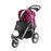 Ibiyaya - Turbo Pet Jogger with Air Filled Tires - Berry Black