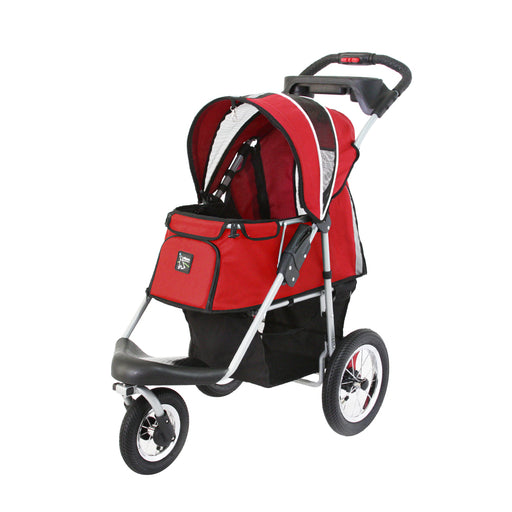 Ibiyaya - Turbo Pet Jogger with Air Filled Tires - Red