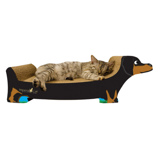 "Imperial Cat - Animal Scratchers - Large Dachshund (9""D x 6""H x 20""W) - PetProject.HK"