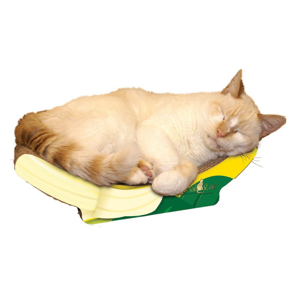 "Imperial Cat - Gourmet Scratchers - Banana (9""D x 4.5""H x 15""W) - PetProject.HK"
