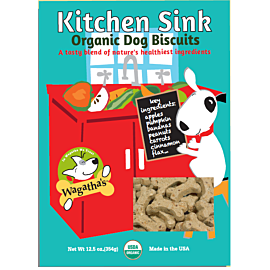 Kitchen Sink  - Wheat Free Organic Dog Biscuits - PetProject.HK