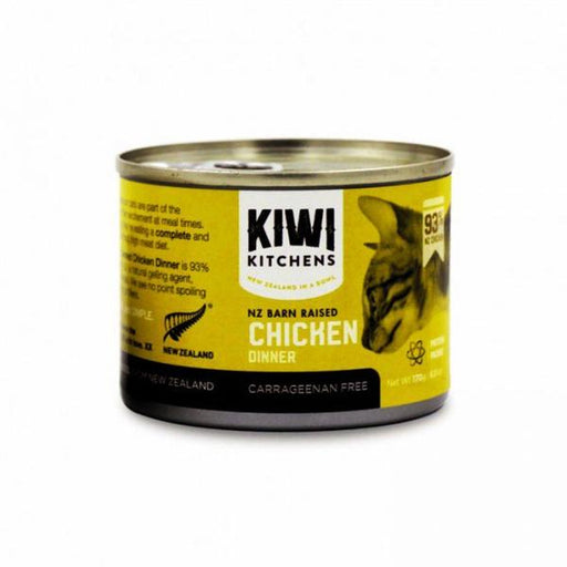 Kiwi Kitchens - Cat Canned Food - NZ Barn Raised Chicken - 170G
