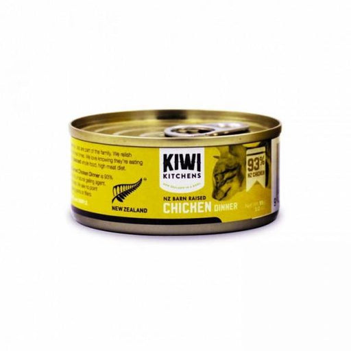 Kiwi Kitchens - Cat Canned Food - NZ Barn Raised Chicken - 85G