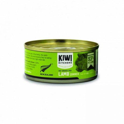 Kiwi Kitchens - Cat Canned Food - NZ Grass Fed Lamb Dinner - 85G