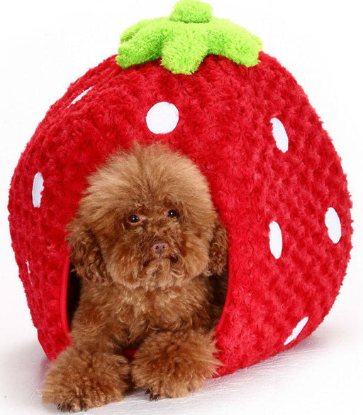 Lovabledog - Strawberry Pet House (S) - PetProject.HK