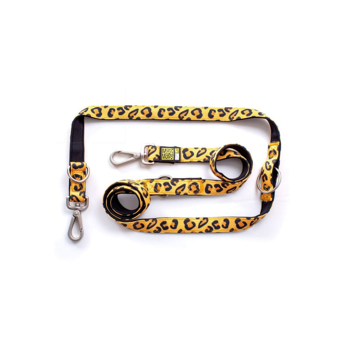 Max & Molly - Multi-Leash - Leopard Classic