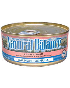 Natural Balance - Cat Salmon Formula Canned - 5.5oz - PetProject.HK