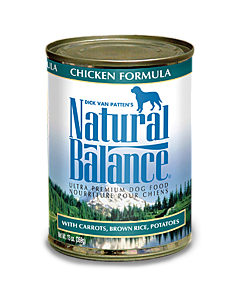 Natural Balance - Chicken Formula Canned - 13oz - PetProject.HK