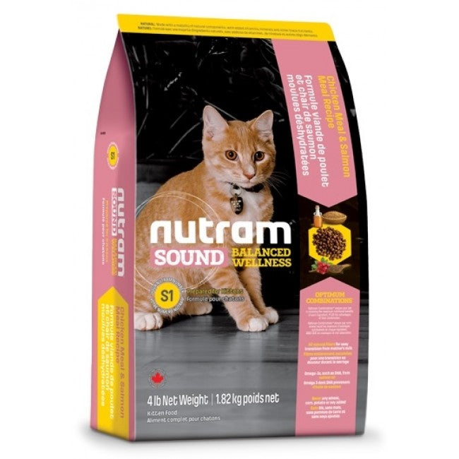 Nutram - S1 Nutram Sound Balanced Wellness - Kitten Food - 1.8KG - PetProject.HK