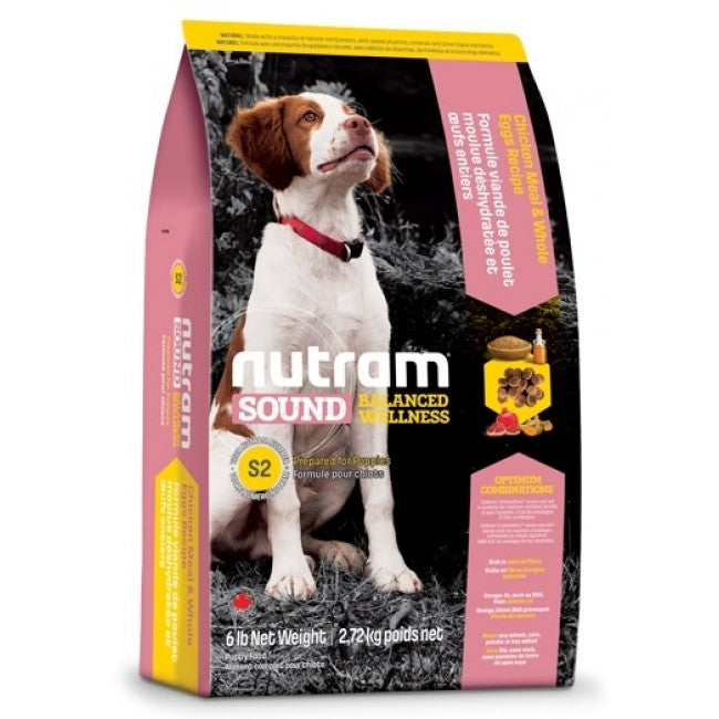 Nutram - S2 Nutram Sound Balanced Wellness - Puppy - 2.72KG