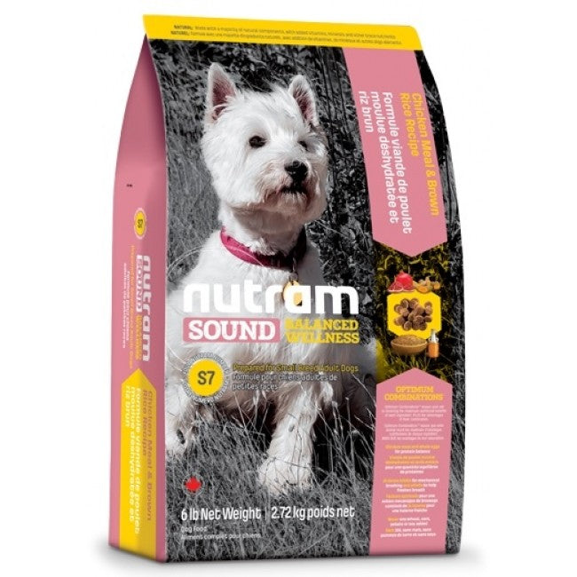 Nutram - S7 Nutram Sound Balanced Wellness - Small Breed Adult - 2.72KG