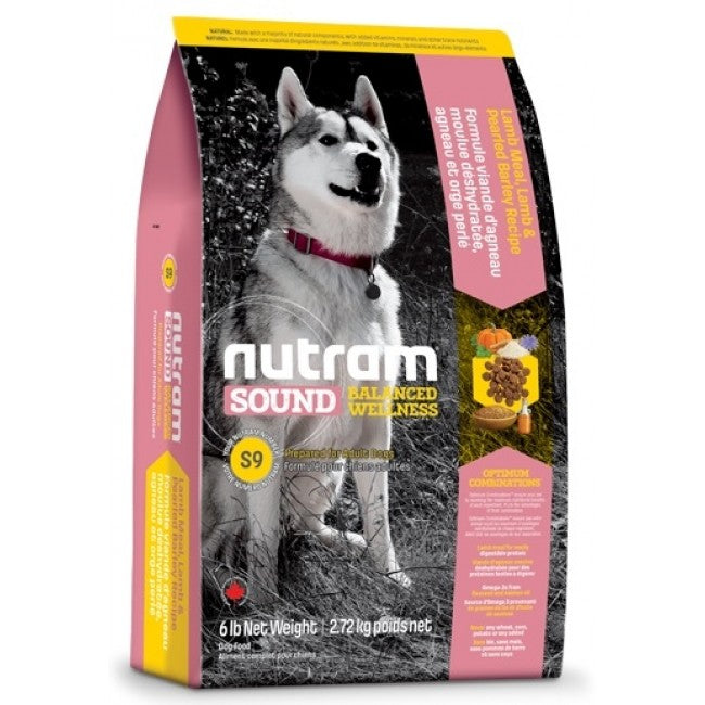 Nutram - S9 Nutram Sound Balanced Wellness - Lamb Recipe for Adult - 13.6KG