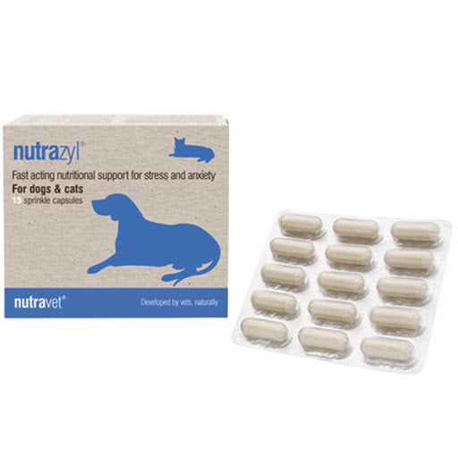 Nutravet - Nutrazyl for Street & Anxiety - 15CAP - PetProject.HK