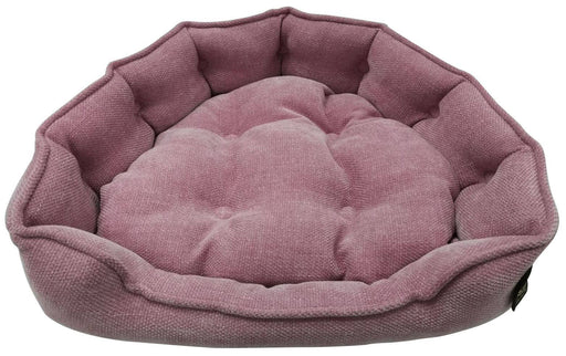 "One for Pets - Adela Snuggle Bed - Blushing - 25"" x 21"" x 6""(L) - PetProject.HK"