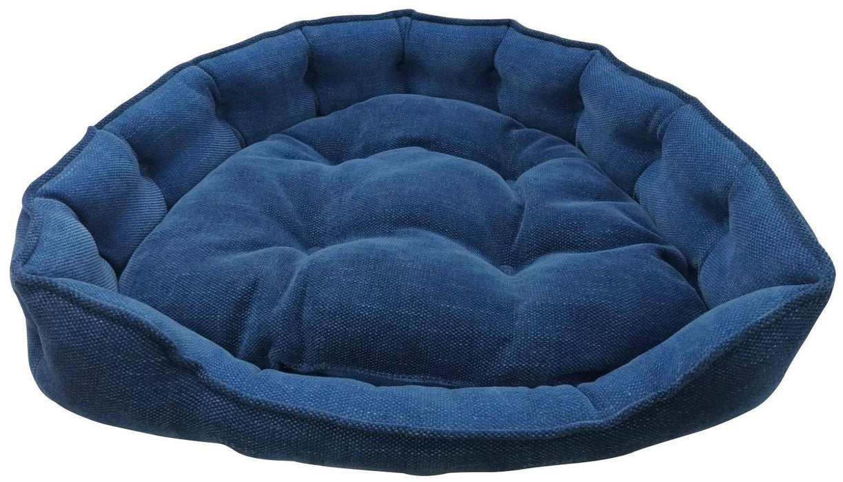 "One for Pets - Adela Snuggle Bed - Denim - 17"" x 15"" x 5""(XS) - PetProject.HK"