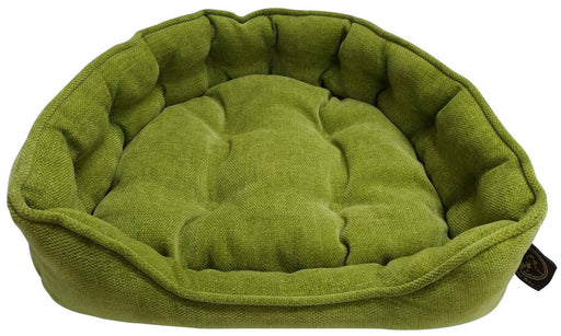 "One for Pets - Adela Snuggle Bed - Greenfield - 25"" x 21"" x 6""(L) - PetProject.HK"