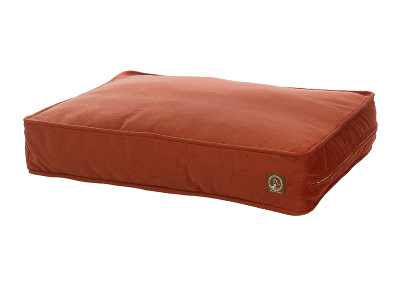 "One for Pets - Faux Suede Classic Pillow Bed - Navajo- 27"" x 36"" x 5""(M) - PetProject.HK"