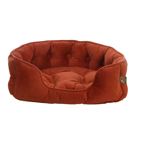 "One for Pets - Faux Suede Snuggle Bed - Navajo - 21"" x 18"" x 5""(S) - PetProject.HK"