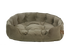 "One for Pets - Faux Suede Snuggle Bed - Taupe - 17"" x 15"" x 5""(XS) - PetProject.HK"