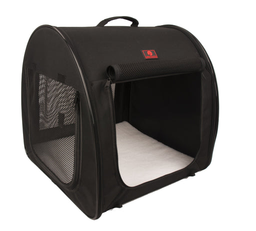 One for Pets - Folding Fabric Kennel - Black - Single