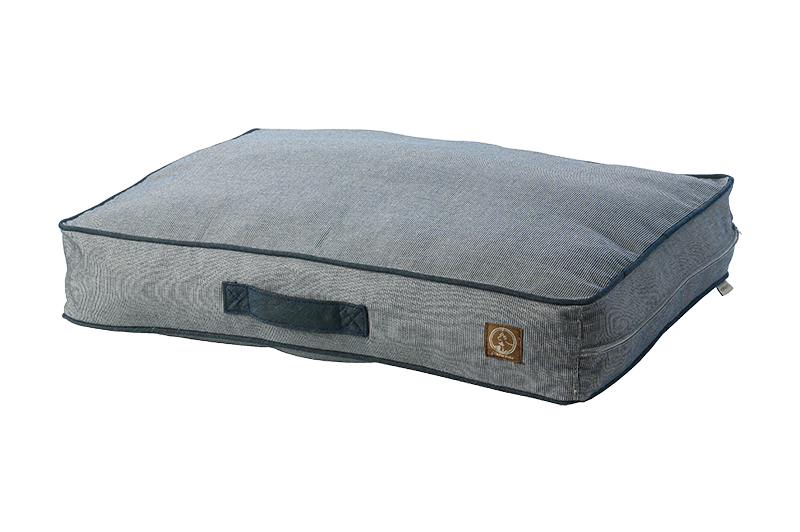 "One for Pets - Siesta Spanish Indoor / Outdoor Bed - Denim - 27"" x 36"" x 5"""
