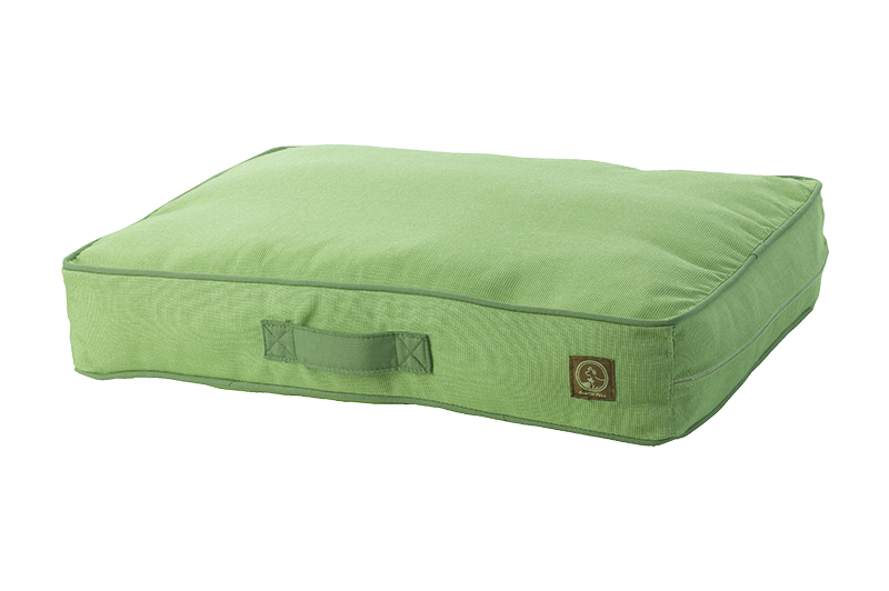 "One for Pets - Siesta Spanish Indoor / Outdoor Bed - Green - 34"" x 45"" x 5"""